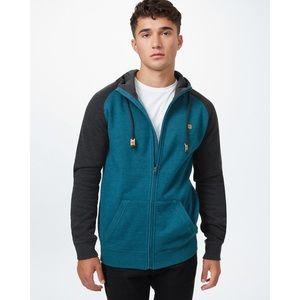 Nwt Tentree Oberon Zip hoodie Sz small